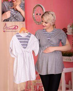 تونیک بارداری و شیردهی مدل آستین لاله ای آناندا