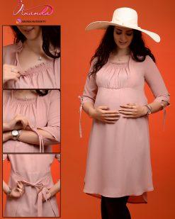 مانتو بارداری مدل شرمین برند آناندا